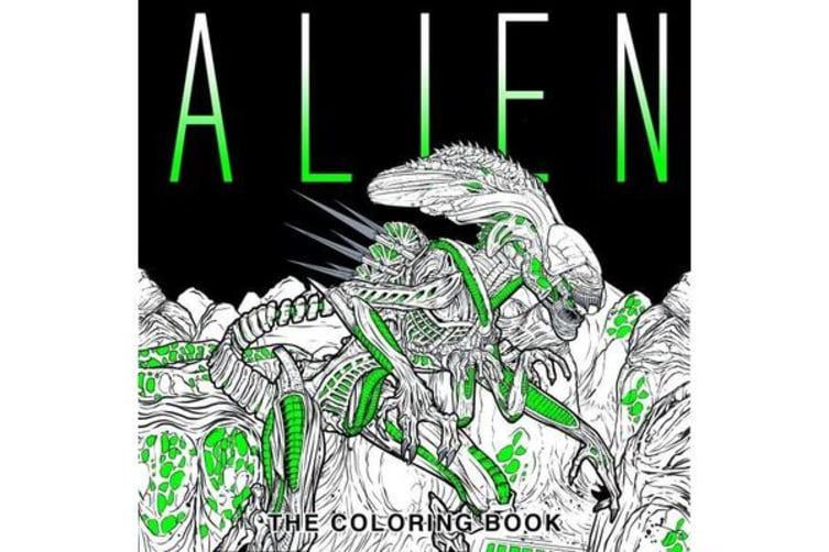 Alien - The Coloring Book