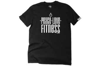 Personal Best Running Tee - Peace Fitness Mens T-Shirt