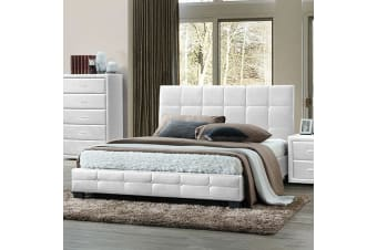 Soho Double Bed White