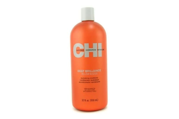 CHI Deep Brilliance Yellow Buster Neutralizing Conditioner (950ml/32oz)