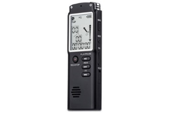 WJS 16GB Digital Voice Recorder Voice Activated Recorder Playback Sound Audio Recorder Dictaphone Line in Lectures Meetings