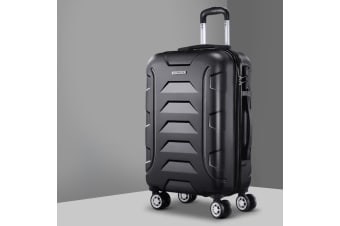 "20"" Luggage Sets Suitcase Trolley Travel Hard Case Lightweight"