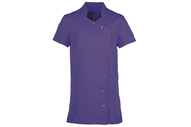 Premier Womens/Ladies *Orchid* Tunic / Health Beauty & Spa / Workwear (Pack of 2) (Purple) (12)