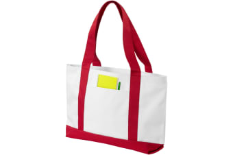 Bullet Madison Tote (White/Red) (46 x 9.5 x 28.5 cm)