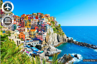 ITALY: 19 Day Highlights of Italy Tour Including Flights for Two