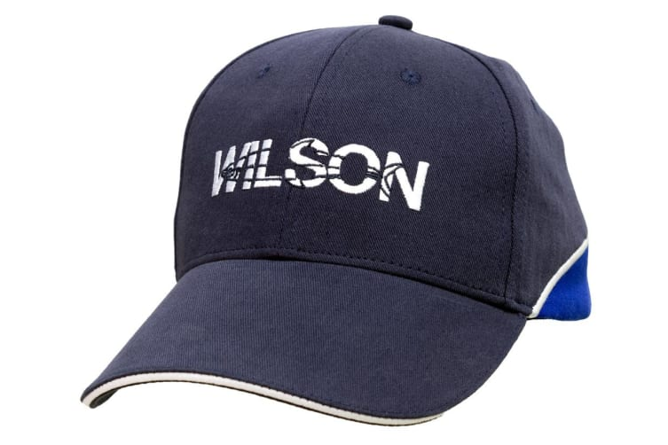 Wilson Embroidered Fishing Cap With Adjustable Strap