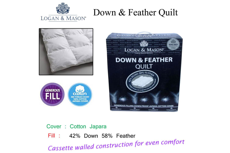 Down & Feather Quilt Queen