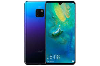 New Huawei Mate 20 Dual SIM 128GB 6GB RAM 4G LTE Smartphone Twilight (FREE DELIVERY + 1 YEAR AU WARRANTY)