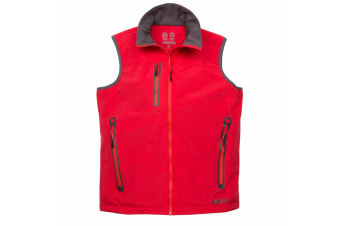 Musto Mens Corsica II Waterproof Gilet (True Red)