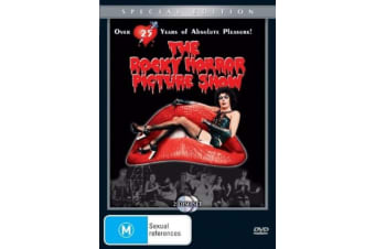 The Rocky Horror Picture Show  -Music Rare- Aus Stock DVD  PREOWNED: DISC LIKE NEW