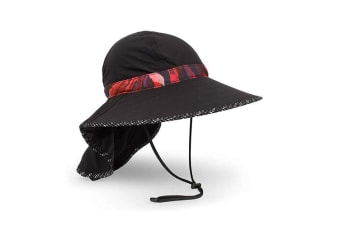 Sunday Afternoons Womens Shade Goddess Hat - Black