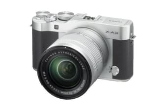 New Fujifilm X-A3 Kit (16-50mm) Digital Camera Silver (FREE DELIVERY + 1 YEAR AU WARRANTY)