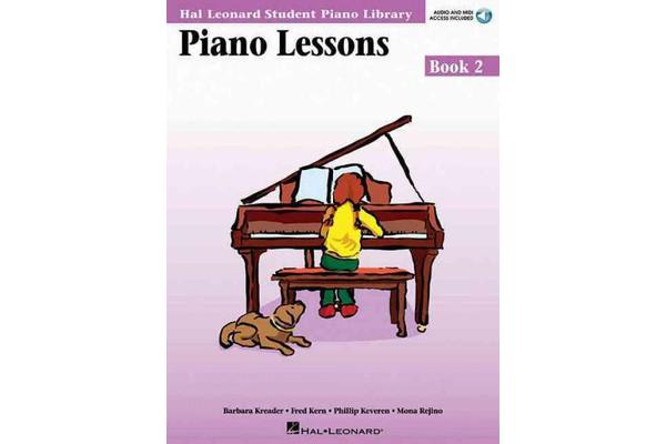 Piano Lessons Book 2 - Audio and MIDI Access Included - Hal Leonard Student Piano Library