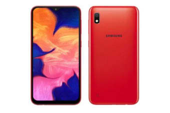 New Samsung Galaxy A10 Dual SIM 32GB 4G LTE Smartphone Red (FREE DELIVERY + 1 YEAR AU WARRANTY)