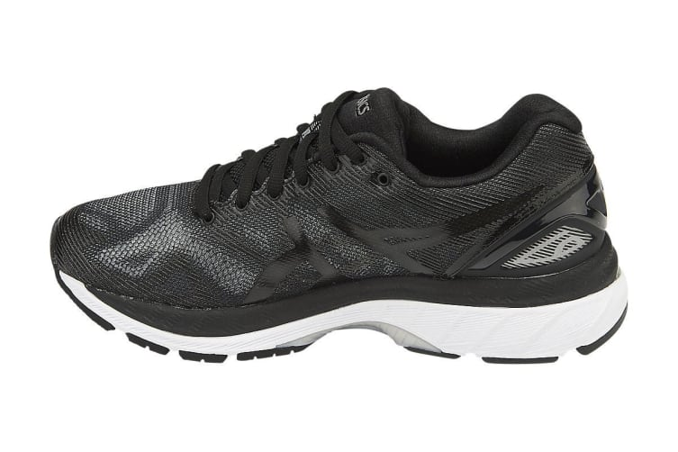 check out ea1f8 df074 ASICS Women's Gel-Nimbus 19 Running Shoe (Black/Onyx/Silver, Size 6)