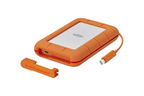 LaCie 4TB Rugged Thunderbolt & USB-C Portable Drive (STFS4000800)
