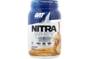 GAT, Nitra Whey, Testosterone Support Shake - Peanut Butter Cookie