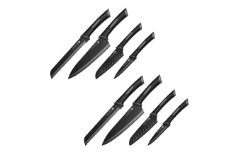 8pc Scanpan Spectrum Cook Chef Bread Utility Knives Knife Kitchen Cutlery Set