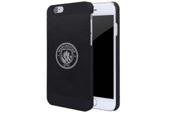 Manchester City FC iPhone 6/6S Aluminium Case (Black) (One Size)