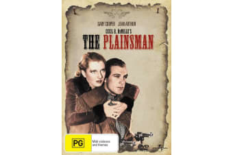 The Plainsman DVD Region 4