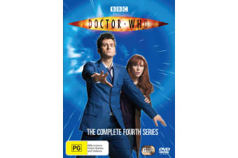 Doctor Who The Complete Fourth Series 4 Box Set DVD Region 4