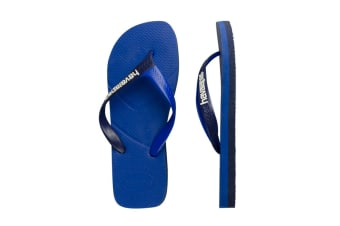 Havaianas Casual Thongs (Blue Star)