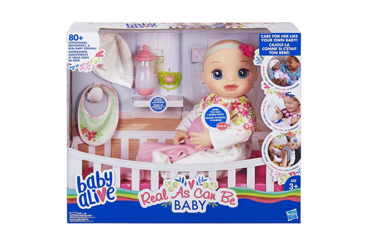 Baby Alive Real As Can Be Baby Doll
