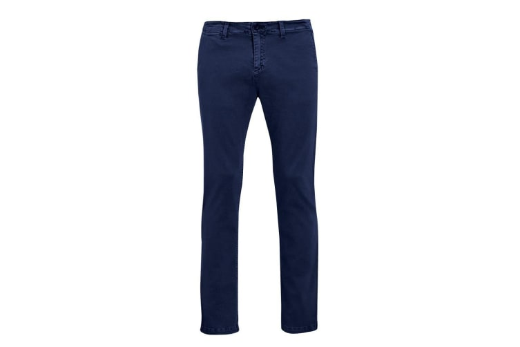 SOLS Mens Jules Chino Trousers (French Navy) (44L)