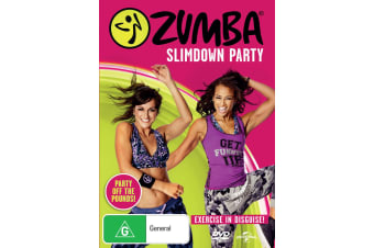 Zumba Slimdown Party DVD Region 4