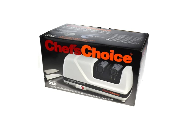 Chefs Choice Diamond Flexhone Strop Electric Knife Sharpener Model 320