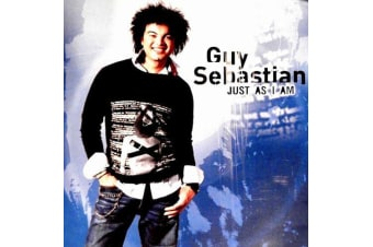 Just As I Am by Guy Sebastian BRAND NEW SEALED MUSIC ALBUM CD - AU STOCK