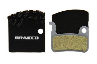 Brakco Organic Disc Pads With Heat-dissipation Fin For Shimano Xtr XTR Before 2011