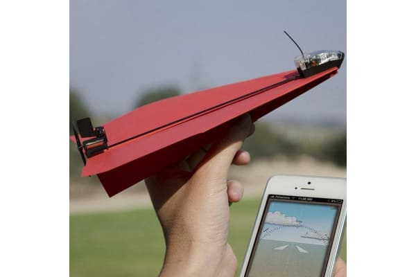 PowerUp 3.0 Bluetooth Controlled Paper Airplane iOS & Android   aeroplane plane power up iphone