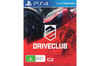 Driveclub PS4 PlayStation 4 Game - Disc Like New