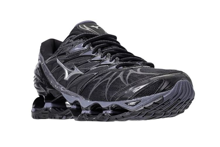 Mizuno Women's WAVE PROPHECY 7 Running Shoe (Black, Size 5.5)