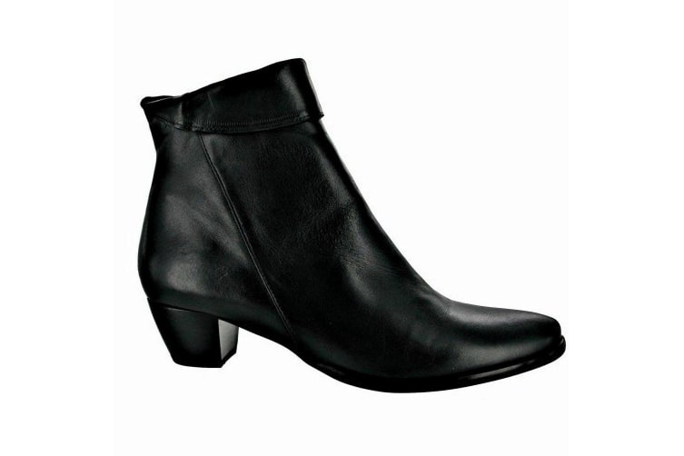 Riva Armadillo Ankle Boot Ladies Boots / Womens Boots (Black) (6 UK)