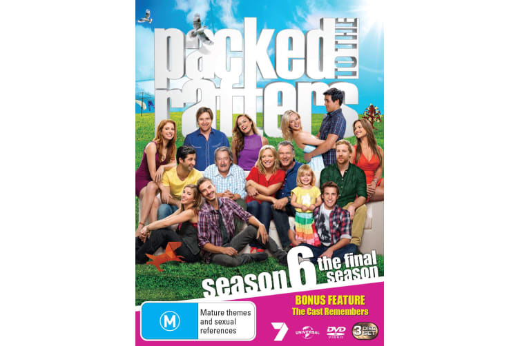 Packed to the Rafters Season 6 The Final Season DVD Region 4