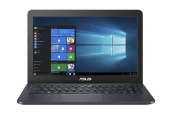 "ASUS 14"" AMD E2-6110 4GB RAM 64 eMMC Win10S Notebook (F402WA-GA019TS)"