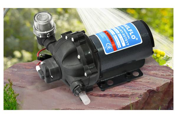 Self Priming Water Pump 12V 210W 70Psi 20 LPM