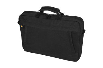 Case Logic Huxton 15.6in Laptop And Tablet Bag (Solid Black) (40.9 x 7.1 x 30cm)
