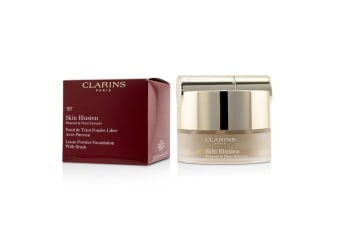 Clarins Skin Illusion Mineral & Plant Extracts Loose Powder Foundation (With Brush) (New Packaging) - # 107 Beige 13g