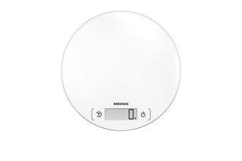 Soehnle Page Comfort Round Digital Kitchen Scale 5Kg White