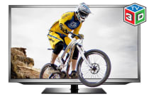 "50"" 3D LED TV (Full HD) with PVR"