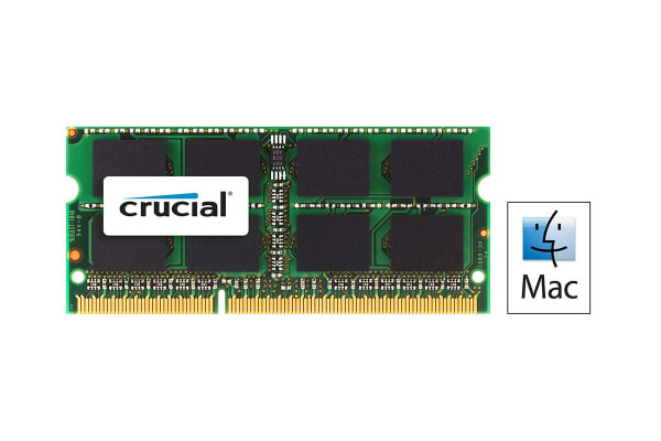 Crucial 8GB DDR3L 1866 MT/s (PC3-14900) CL13 SODIMM 204 Pin 1.35V for Mac