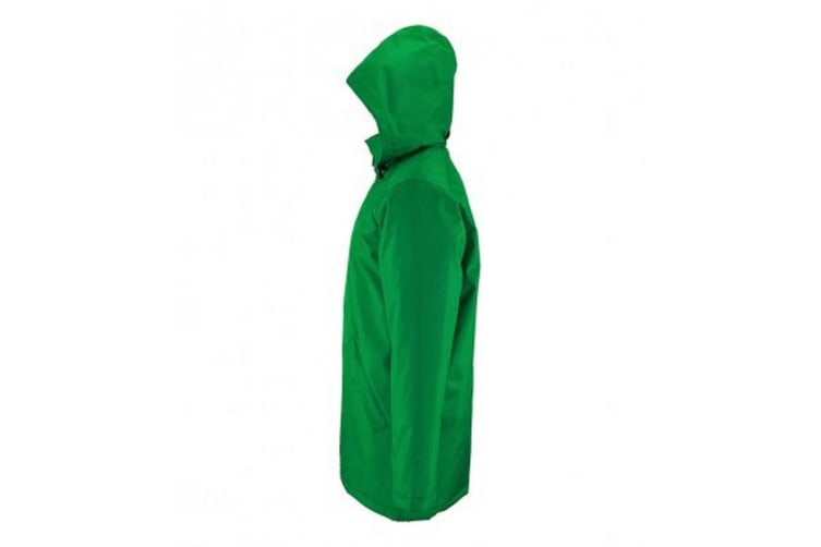 SOLS Unisex Adults Robyn Padded Jacket (Kelly Green) (M)