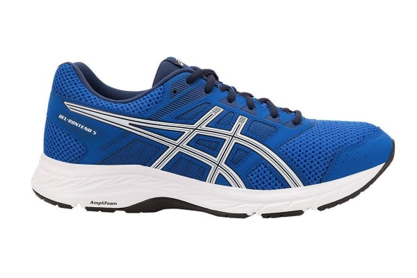ASICS Men's GEL-Contend 5 Running Shoes (Imperial Blue/White, Size 7)