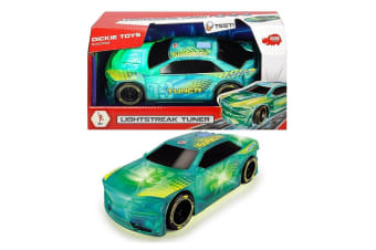 Dickie Toys Lightstreak Friction Powered Tuner Car with Lights