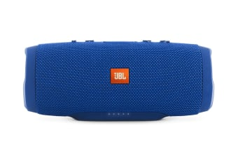 JBL Charge 3 Waterproof Bluetooth Speaker - Blue