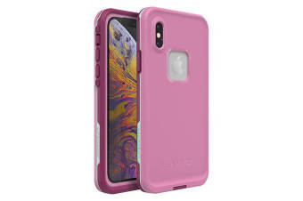 Lifeproof iPhone X/XS FRE Case Waterproof Dirtproof Snowproof Dropproof Cover for Apple - Pink & Mint Frost Bite