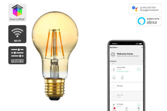 Kogan SmarterHome™ 5W Smart Dimmable LED Filament Bulb A-19 (E27)